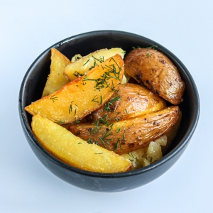 Велика запечена картопля