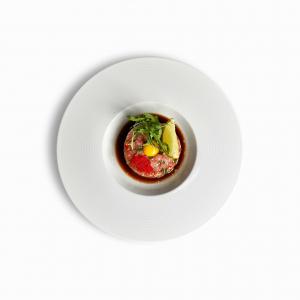 Тартар з тунця та соусом понзу