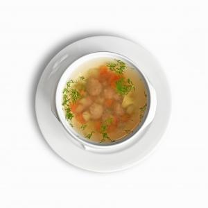 Суп овочевий з фрикадельками