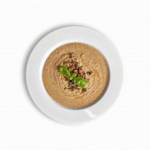 Крем-суп з печериць