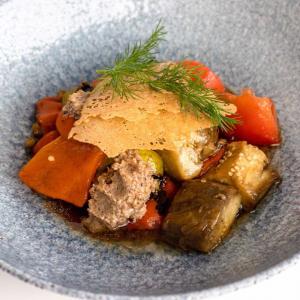 Салат  з печеними овочами