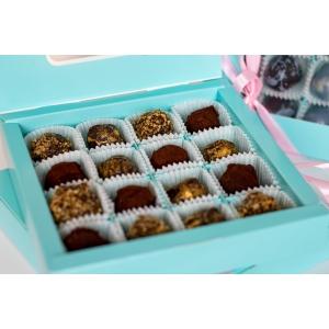 Коробка цукерок табак-трюфель (16 шт)