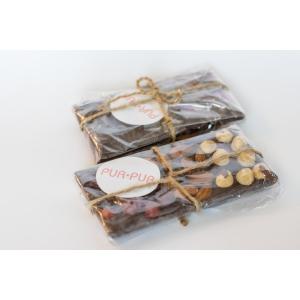 Плитка шоколаду чорний з горіхами та вяленою вишнею (100 гр)